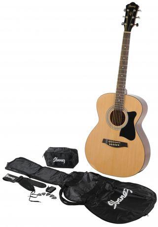 Gitara akustyczna Ibanez V50NJP-NT zestaw pokrowiec+stroik+akcesoria