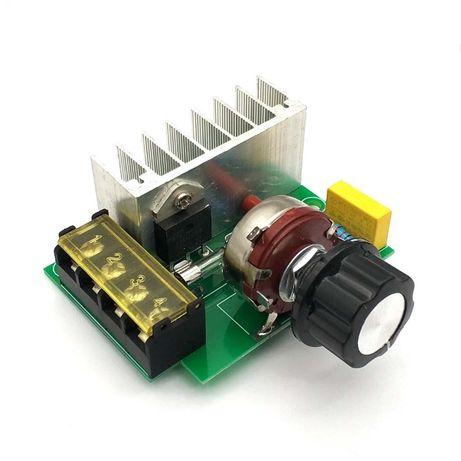 Controlador de Velocidade de Motor PWM AC-220V - 4000W