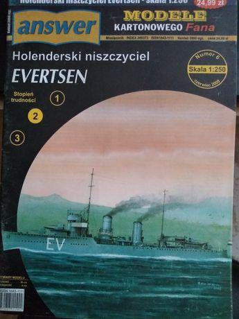 Holenderski niszczyciel evertsen