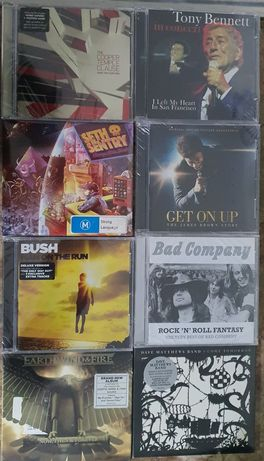 Cds novos e selados rock, pop, rap, hip Hop, bandas sonoras ...