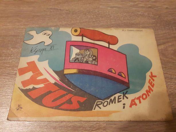 Komiks Tytus Romek i A'tomek ksiega XI