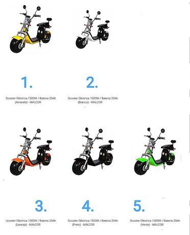 Eletricas em diferentes modelos scooters para todos