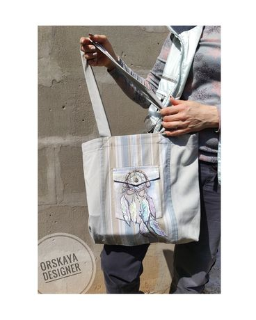 ЭКО сумки пошив на заказ+ рисунок