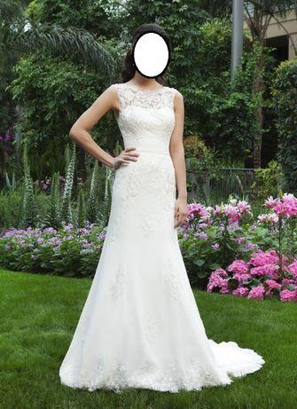 Piękna Suknia Ślubna r.38