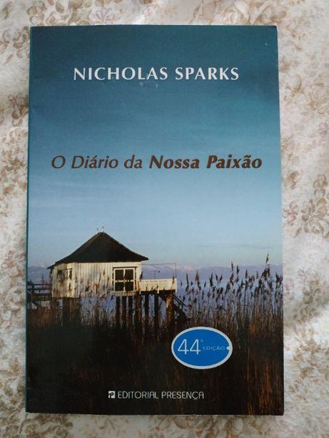 O Diário da Nossa Paixão, Nicholas Sparks