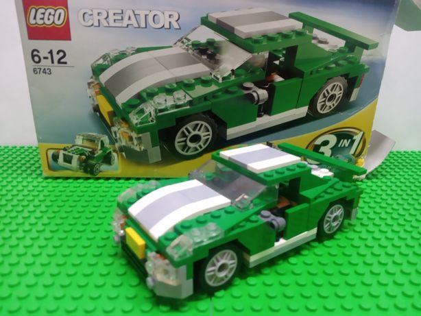 Lego creator оригинал Лего Креатор машина 6743