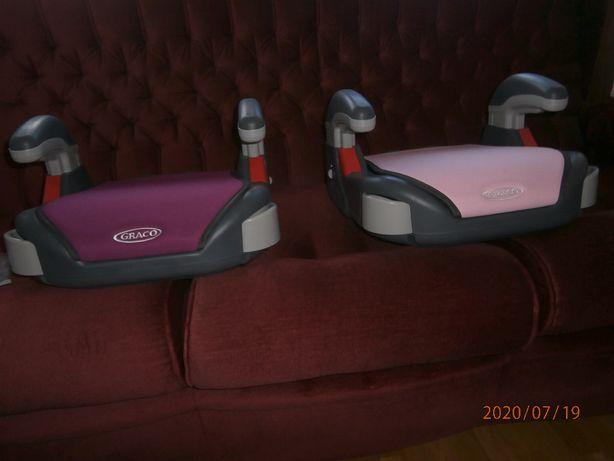 booster seat graco - 2 foteliki podkladka