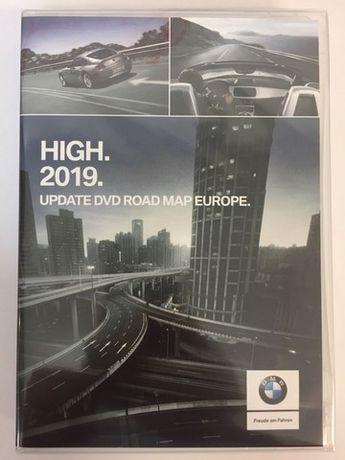 DVD de Navegação BMW Road Map High 2019 para toda a Europa