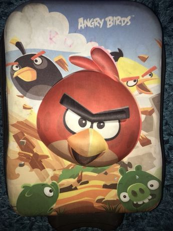 Walizka Angry Bird