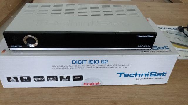 TechniSat DIGIT ISIO S2 - SAT - Twin-Tuner, HDMI, 3x USB, LAN