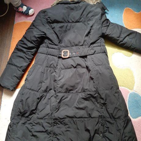 Oryginalny płaszcz kurtka zimowa puchowa Tommy Hilfinger Guess S e