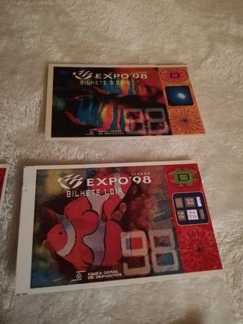 Expo 98 bilhetes