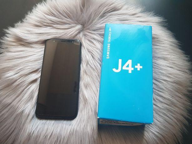 Samsung j4+ plus etui i dodatkowe szkło ochronne