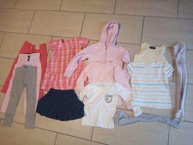 Zestaw ubranek dla dziewczynki 110-116 cm