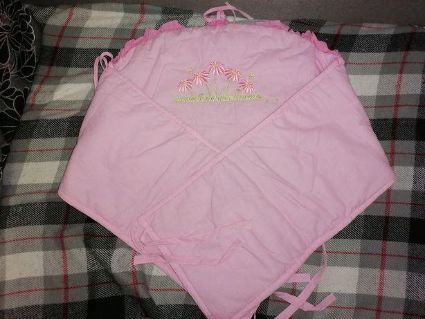 Балдахин защита бортик в кроватку для девочки