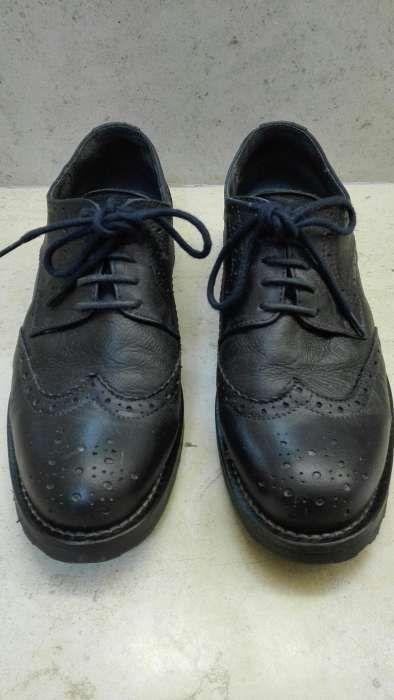 Sapato tipo Oxford Nogueira, Fraião E Lamaçães - imagem 1