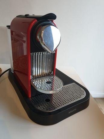 Ekspres do kawy KRUPS - Nespresso + spieniacz do mleka. Faktura VAT