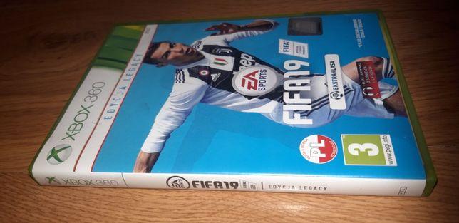 gra xbox 360 FIFA 19 wersja PL