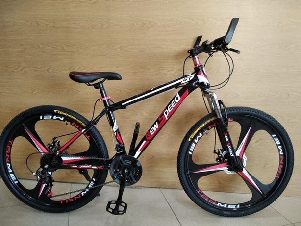 Лучший! Горный велосипед литые диски, 26''/17''.