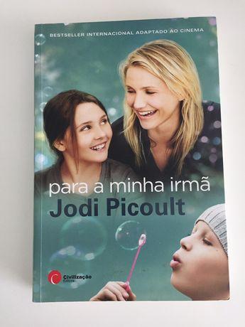 """Livro """"Para a Minha Irmã"""" de Jodi Picoult"""