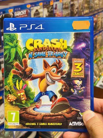 Crash Bandicoon N-Sane Trilogy PS4 *Sklep Bytom