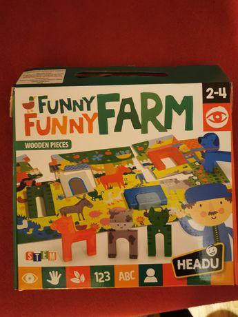 Puzzle HEADU funny farm