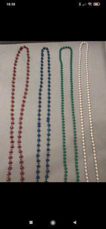 Korale - zestaw różnych kolorów