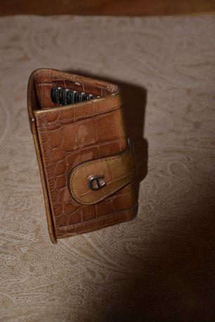 Ключница Aigner для ключей Italy original кожа