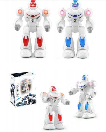 Świecące, ruszające się, chodzące roboty na baterie NOWE w PUDEŁKACH