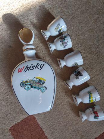 Garrafa loiça whisky vintage