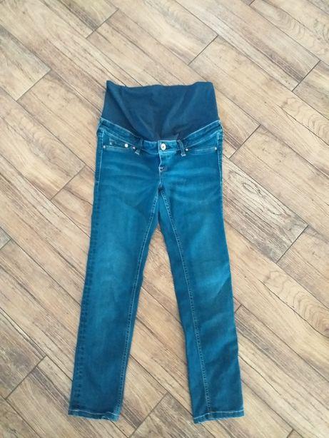 Spodnie ciążowe H &M mama na niską osobę roz 38