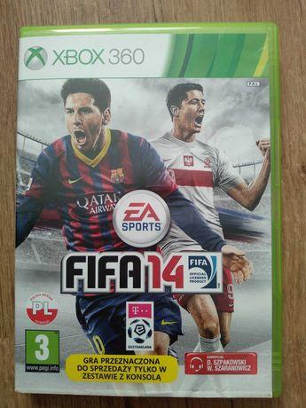 Gra FIFA 14 na Xbox 360