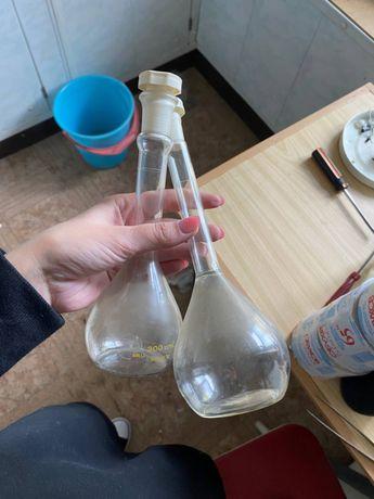 Химическая посуда пробирки