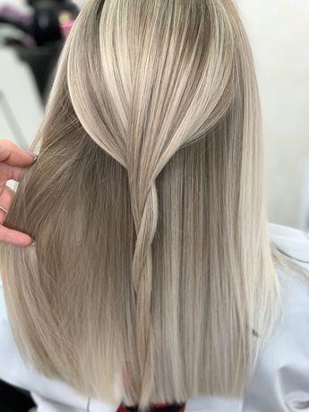 Окрашивание волос. Омбре, балаяж, аир тач, фламбояж. Лучшие материалы