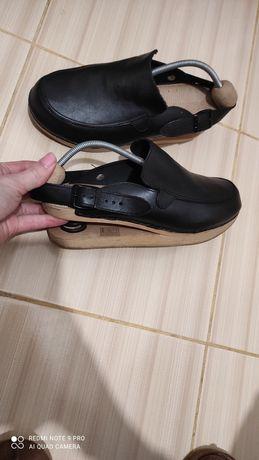 Шлепки сабо Bado original 40-39р.26-25.5см натуральная кожа