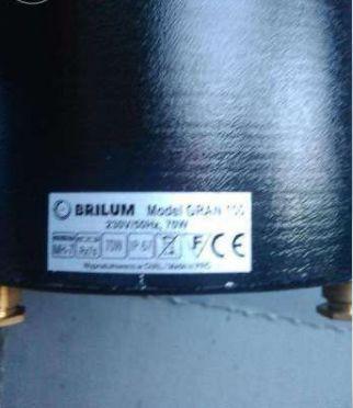 Светильник грунтовой - дорожный BRILUM GRAN 100