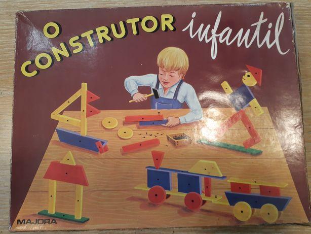 Antigo jogo da Majora O Construtor Infantil
