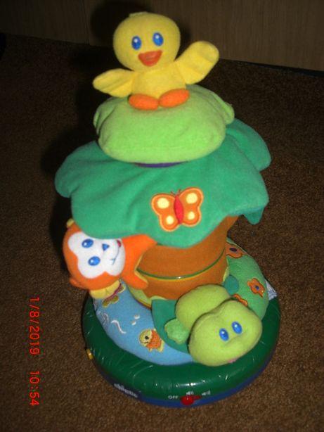 пирамидка chicco лесные друзья