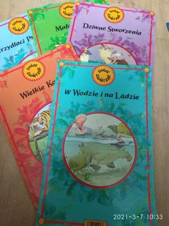 Świat zwierząt Duże książki Tony Wolf