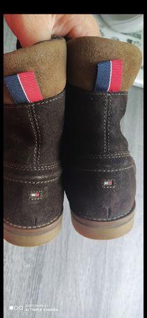 Ботинки  Tommy Hilfiger  зима ,черевики Tommy Hilfiger