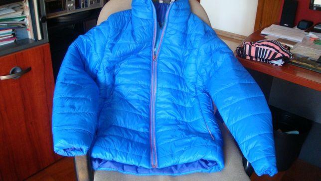 blusao almofadado azul