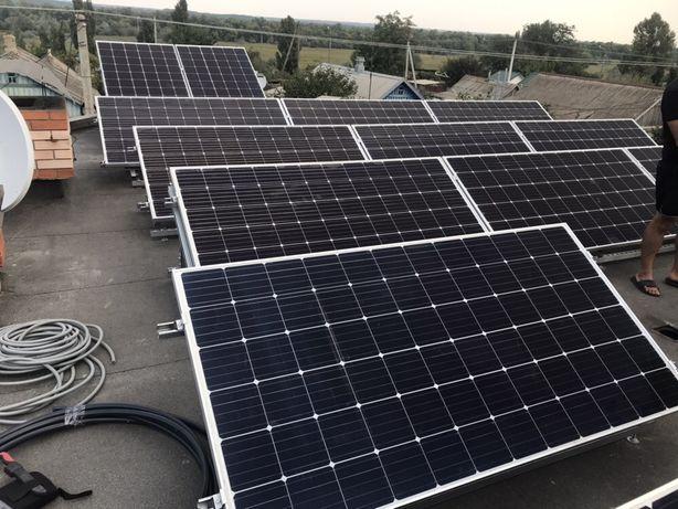 Солнечные электростанции под ключ,монтаж ,проектирование