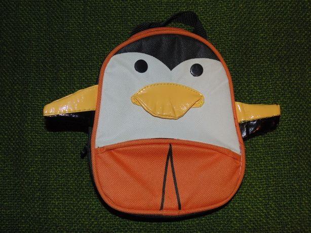 Детский маленький рюкзак-сумочка в виде пингвинчика