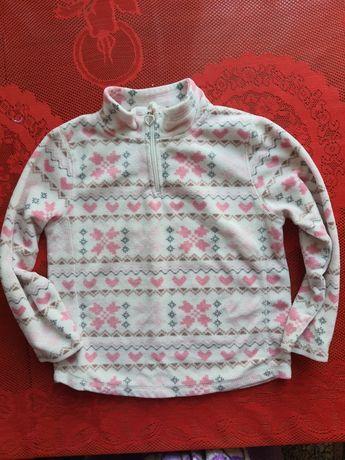 Флиска,флисовый свитер 5-6лет