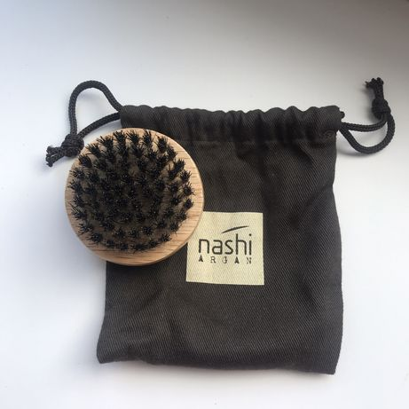Щеточка для волос и бороды Nashi Argan