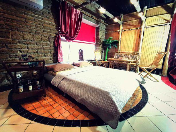 Квартира 130м2 в Приморском районе города: кухня, барная стойка, сауна