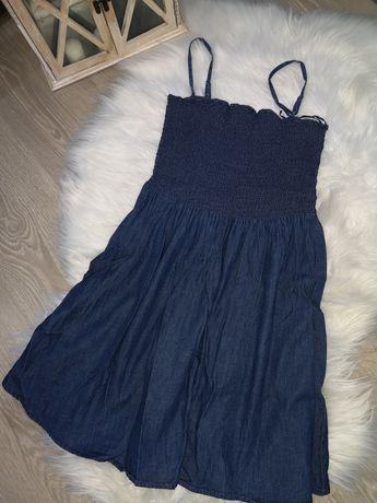 Sukienka ala jeansowa 34