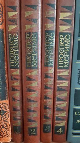 Мериме Проспер сочинения в 4х томах