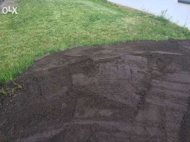 Ziemia ogrodowa przesiewana humus trawnik