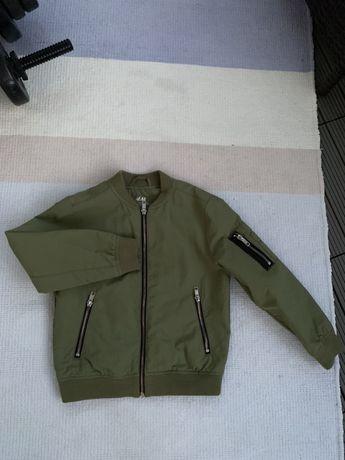 Bomberka H&M w super kolorze khaki 122cm